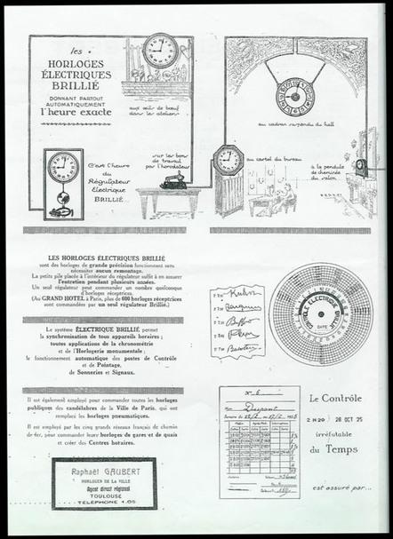 mécanisme horloge électrique